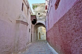 Street of Meknes, Morocco — Stock Photo