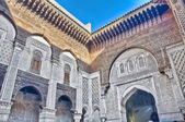 El-Attarin Madrasa at Fez, Morocco — Stock Photo