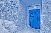 City streets of Chefchaouen, Morocco — Stock Photo