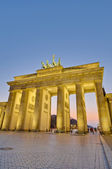 The Brandenburger Tor at Berlin, Germany — 图库照片
