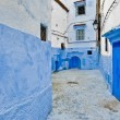 City streets of Chefchaouen, Morocco — Foto Stock