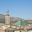 Kairaouine mosque at Fez, Morocco — Foto Stock