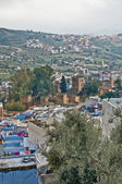 Kasba of Chefchaouen blue town at Morocco — Stock Photo