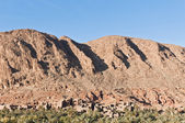 Georges Todra Valley at Morocco — Stock Photo