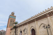 Moulay Al Yazid mosque at Marrakech, Morocco — Stock Photo