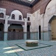 Royalty-Free Stock Photo: Bou Inania Madrasa at Meknes, Morocco