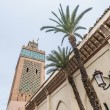 Moulay Al Yazid mosque at Marrakech, Morocco — Stockfoto #11606509
