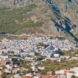 Stock Photo: Chefchaouen blue town general view at Morocco