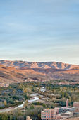 Boulmalne Dades valley at Morocco — Stock Photo