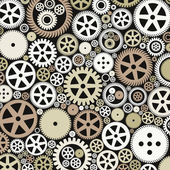 Background made of gears. — Stockvektor