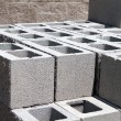 Architectural Concrete Blocks - Stock Photo