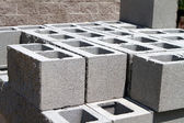 Architectural Concrete Blocks — Stock Photo