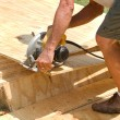 Royalty-Free Stock Photo: Carpenter Power Saw