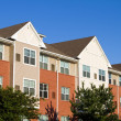 Apartment Townhouses — Stock Photo