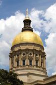 купол здания капитолия грузии — Стоковое фото
