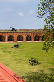 Fort Pulaski Canons — Stock Photo
