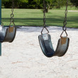 Stock Photo: Empty Swings
