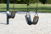Empty Swings — Stock Photo