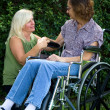 Caregiver Comforter — Stock Photo #12342366