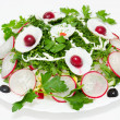 Royalty-Free Stock Photo: Spring radish salad
