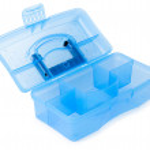 Mavi araç kutusu — Stok fotoğraf