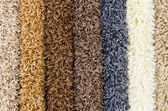 Carpet demo samples — Stock Photo
