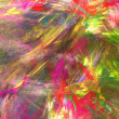 Abstract background. Fractal strokes - Stock Photo