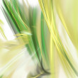Yellow green fractal — Stock Photo