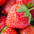 Fresh ripe strawberries, macro - Stock Photo