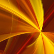 Abstract background. Fractal rays — Stock Photo