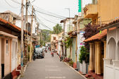 Galle fortress streets, Sri Lanka — Stock Photo