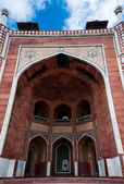 Humayun`s Tomb arches, Delhi, India. — Stock Photo