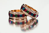 Close-up of rings or bracelets — Stock Photo