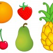 Fruits set 1 — Stock Vector #10749678