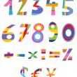 Fun numbers — Stock Vector #11282370