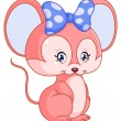 Sweet mouse - Stock Vector