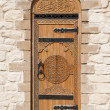 Door with Arabic script — Stock Photo #12378007