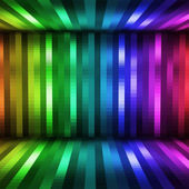 Abstract lights disco background — Stock Photo