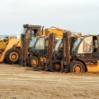 Heavy duty construction machinery — Stock Photo