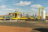 Process unit gaz. — Stock Photo