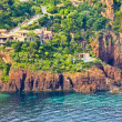 Stock Photo: Massif de l'Esterel, south of France