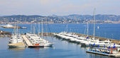Port in the south of France — Stock Photo