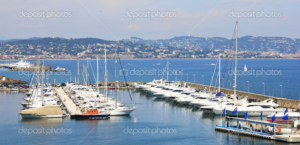 Port in the south of France  Stock Photo #10947790