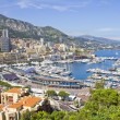 Monaco during the Formula One period — Stok fotoğraf