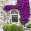 House in Saint-Paul de Vence, south of France — Stock Photo