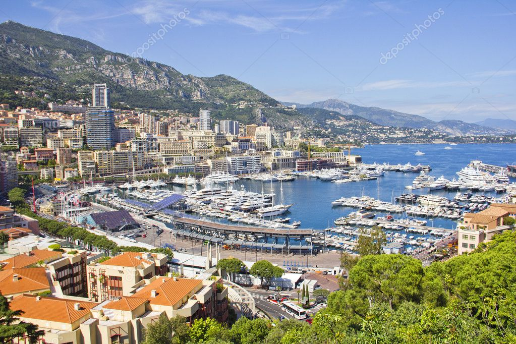 Monaco during the Formula One period — Stock Photo #11152236