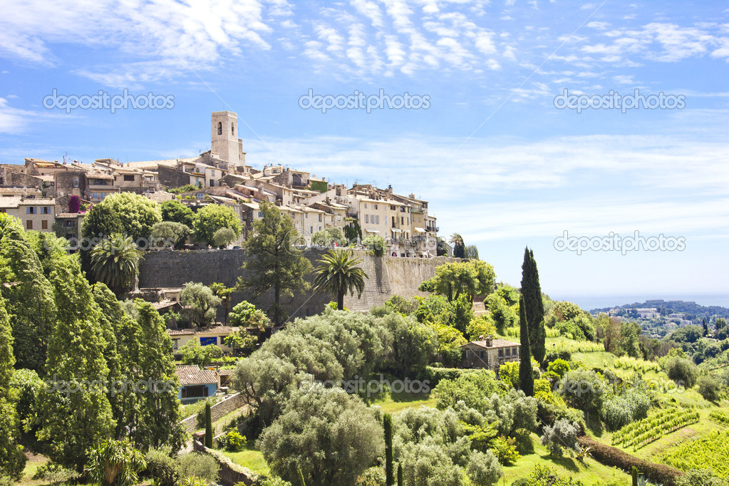 Saint Paul de Vence, south of France — Stock Photo #11174372
