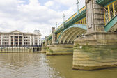 Southwark Bridge, London, UK — Stock Photo