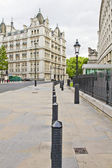 Street view of the Whitehall Court, London — Stok fotoğraf