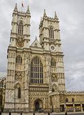 вид на вестминстерское аббатство, лондон — Стоковое фото